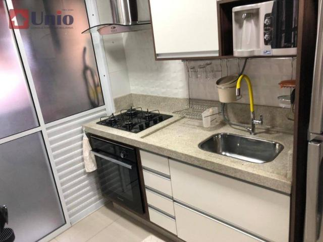 Apartamento com 3 dormitórios à venda, 68 m² por R$ 390.000 - Alto - Piracicaba/SP - Foto 16