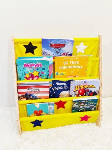 Rack Para Livros Infantil, Standbook Montessoriano - Foto 2