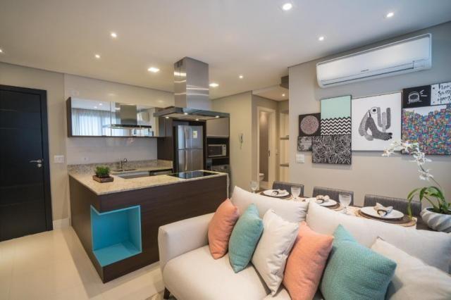 Apartamento à venda com 1 dormitórios em São francisco, Curitiba cod:0128/2020 - Foto 2