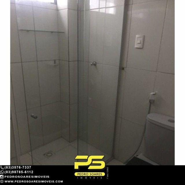Apartamento com 3 dormitórios para alugar, 90 m² por R$ 1.700/mês - Aeroclube - João Pesso - Foto 11