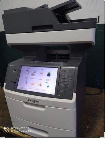 Impressora multifuncional lexmark mx 711