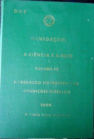 Livro Navegação A Ciência e a Arte Vol 3