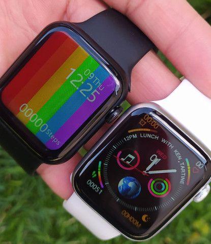 Smartwatch IWO 13 Lite(IWO W26+)Séries 6 Tela infinita, c/pulseira extra e película. - Foto 6