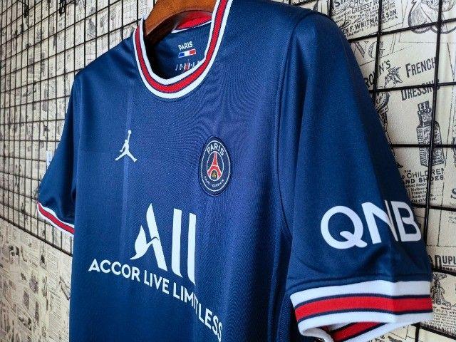 Camisa do PSG 21-22 (torcedor) - Foto 4