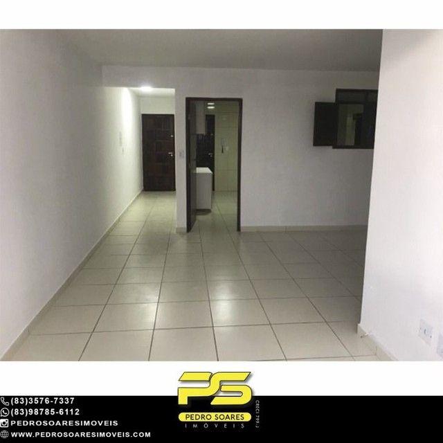 Apartamento com 3 dormitórios para alugar, 90 m² por R$ 1.700/mês - Aeroclube - João Pesso - Foto 4