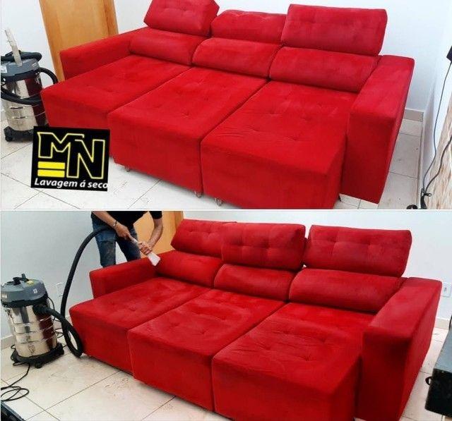 Higienização e lavagem  a seco de sofá em promoção  a partir 79.99 - Foto 2