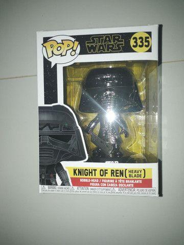 Funko pop Star wars knight of ren heavy blade 335 bobble head  - Foto 2