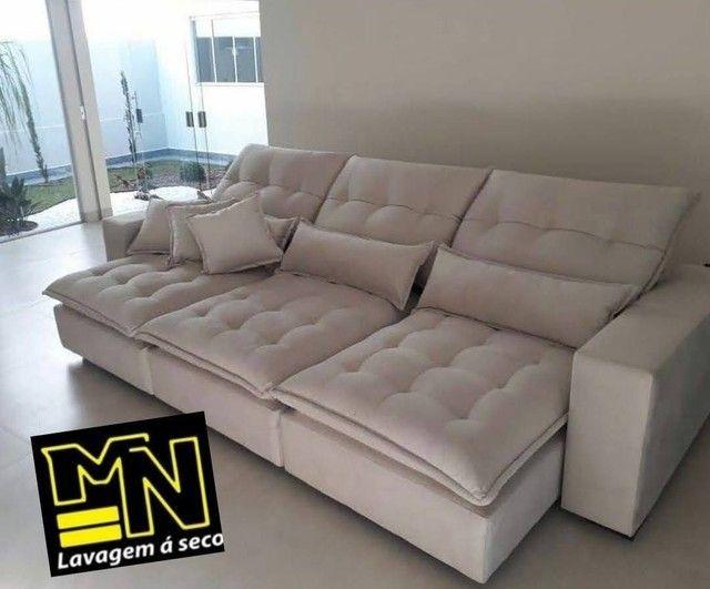 Higienização e lavagem  a seco de sofá em promoção  a partir 79.99 - Foto 3