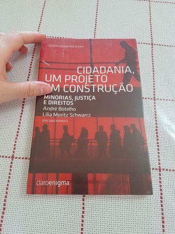 Livro novo Cidadania, um projeto em construção - Foto 3