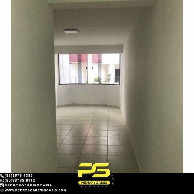 Apartamento com 3 dormitórios para alugar, 90 m² por R$ 1.700/mês - Aeroclube - João Pesso - Foto 3