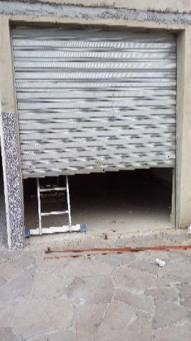 Porta de cortina galvanizada
