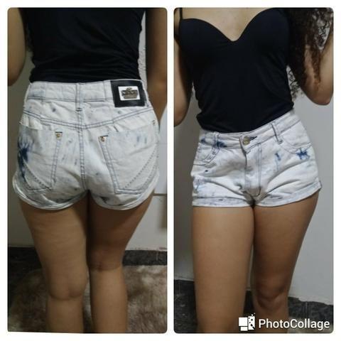Short jeans bana bana (somente venda)