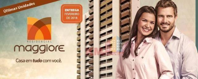 Vende-se excelente  apartamento no residencial Maggiore