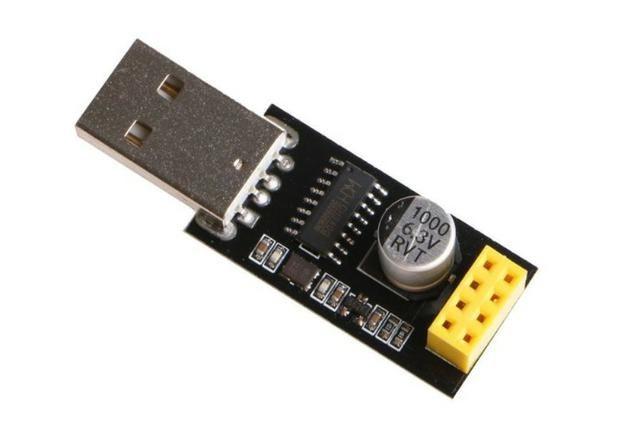 COD-AM159Usb Ttl Módulo Serial ESP8266 Wifi ESP-01 CH340G Adaptador De Placa developent - Foto 3