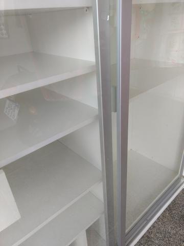 Armário expositor MDF portas de vidro 2 x 2 x 0,70m - Foto 5