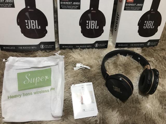 Headphone fone de ouvido Bluetooth jbl super brass top sem fio - Foto 3