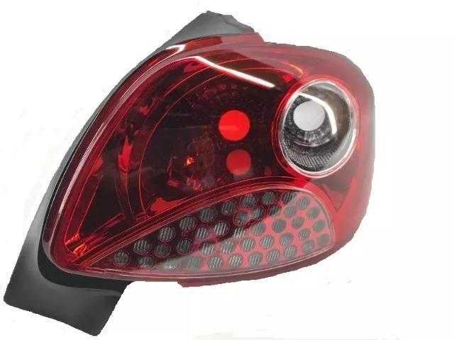 Lanterna Vermelha Peugeot 207 Hatch 2007 a 2011 Direito
