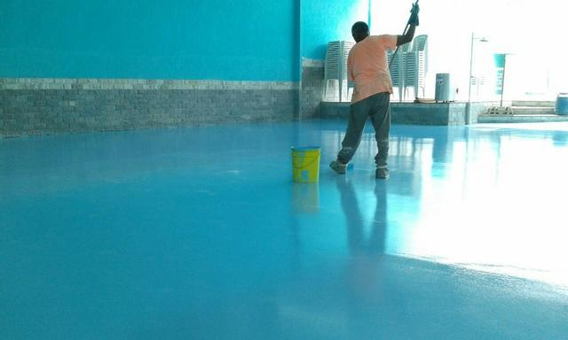 Epóxi / polimento de piso / Pintura
