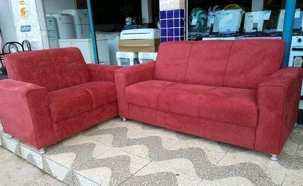 Belissimo Conjunto de Sofa 3 e 2 Lugares Novos e Embalados e Com Otimo preço - Foto 2