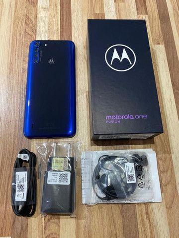 Motorola Moto One Fusion 128gb (Nota Fiscal + Garantia)