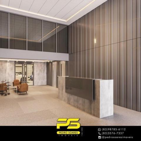 Apartamento com 2 dormitórios à venda, 60 m² por R$ 468.000 - Cabo Branco - João Pessoa/PB - Foto 7