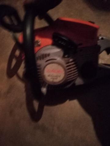 Vendo um moto serra seme novo - Foto 2