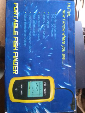 Sonar Fish finder novo alcance de até 100m - Foto 2