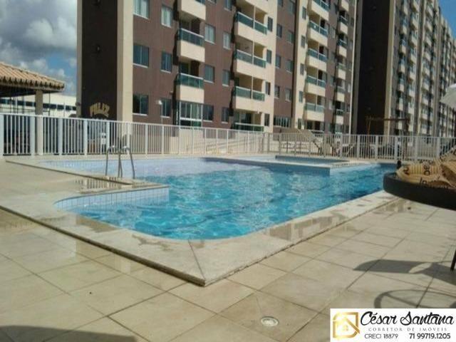 Apartamento 3/4 com suíte e varanda - Torres do Atlântico - Lauro de Freitas