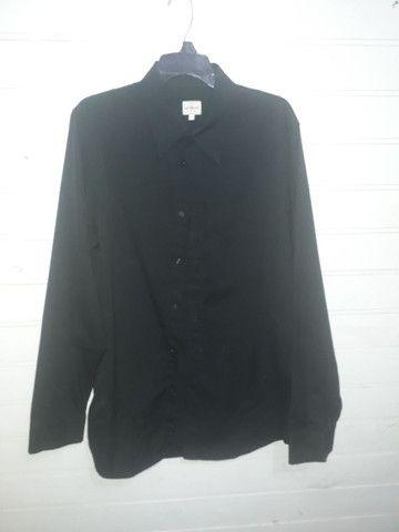 Camisa calvin Klein jeans preta