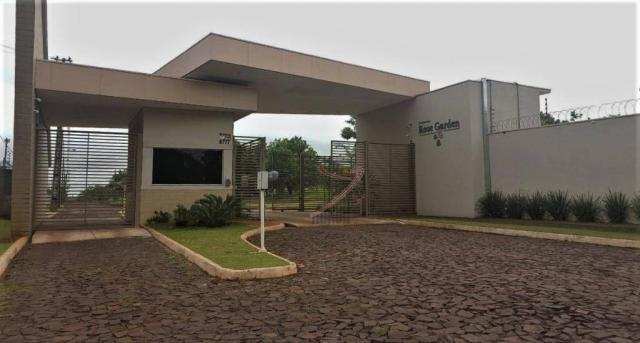 Terreno à venda, 600 m² por R$ 140.000,00 - Cond. Rose Garden - Foz do Iguaçu/PR