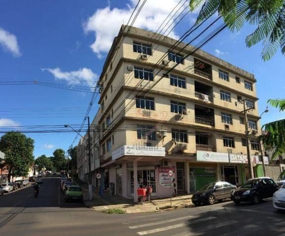 Apartamento com 2 dormitórios para alugar, 110 m² por R$ 1.900/mês - Centro - Foz do Iguaç