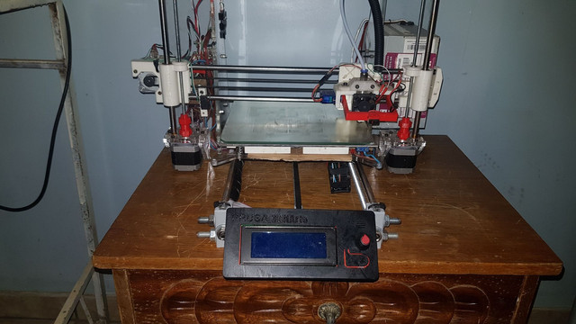 Impressora 3D frame de acrílico pronta pra uso. - Foto 2