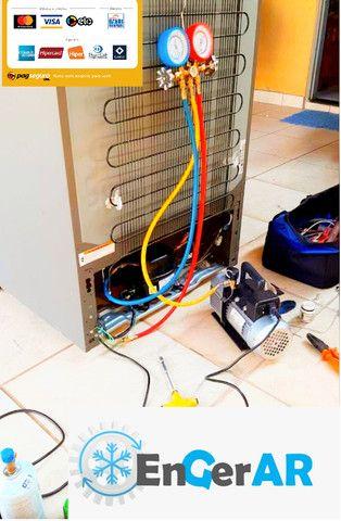 Conserto em freezer, geladeira,frigobar e ar-condicionado,