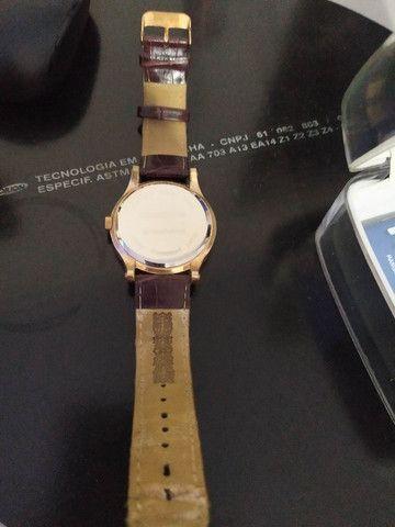 Relógio Mondaine pulseira de couro - Foto 2