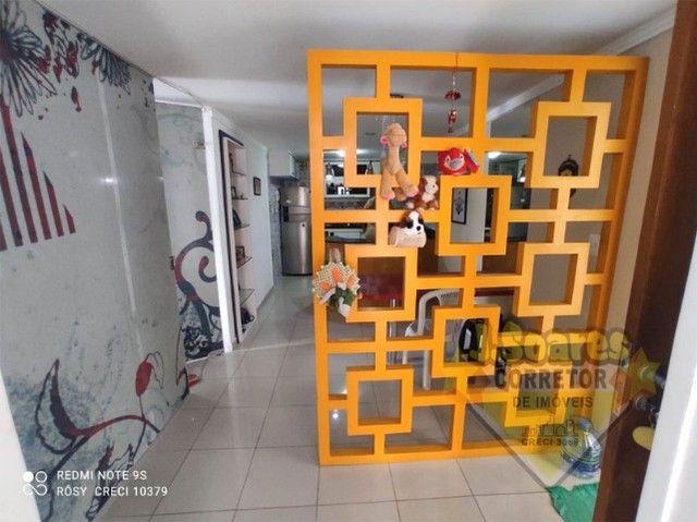 Cabo Branco, Cobertura, pisc  priv, 2 qt, 110m², 480mil, Venda, Apartamento, João Pessoa - Foto 12