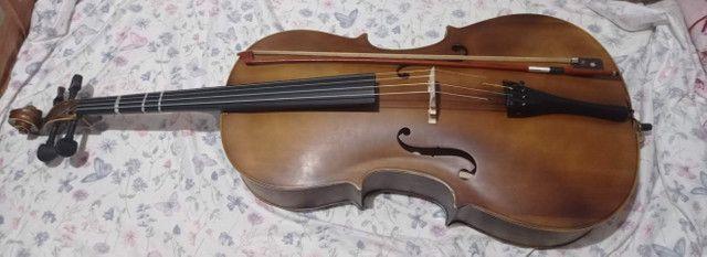 Violoncelo 4/4 Vogga Envelhecido - Foto 3
