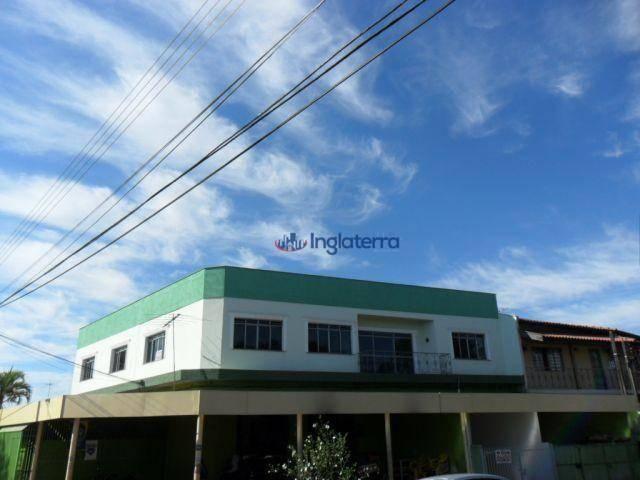Casa para alugar, 100 m² por R$ 1.050,00/mês - Califórnia - Londrina/PR - Foto 2