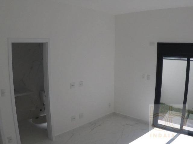 Casa com 3 dormitórios à venda, 168 m² por R$ 835.000 - Condomínio Alto de Itaici - Indaia - Foto 9