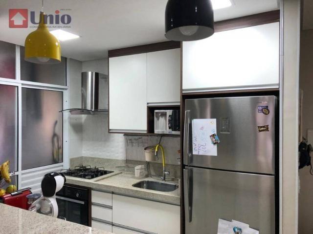Apartamento com 3 dormitórios à venda, 68 m² por R$ 390.000 - Alto - Piracicaba/SP - Foto 18