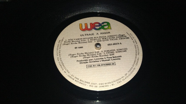 Lp Ultraje a rigor 1985 - Foto 3