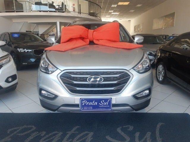 Hyundai IX35 Gls 2.0 Aut Flex 2017, Multimidia, Couro, Unica Dona, Periciada - Foto 2