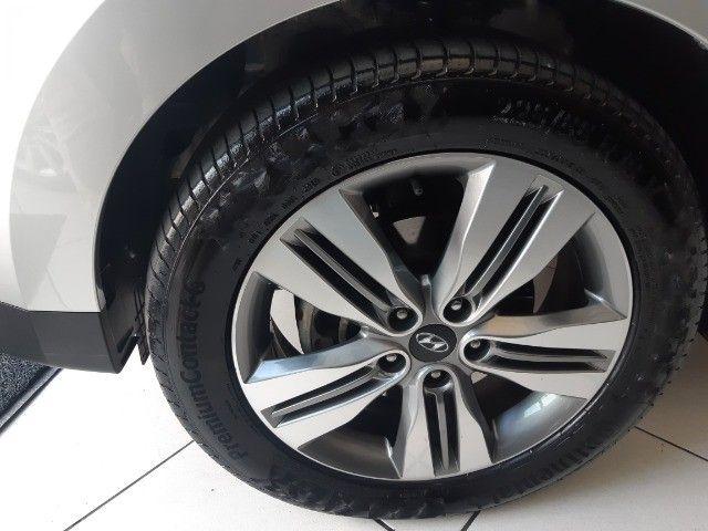 Hyundai IX35 Gls 2.0 Aut Flex 2017, Multimidia, Couro, Unica Dona, Periciada - Foto 15