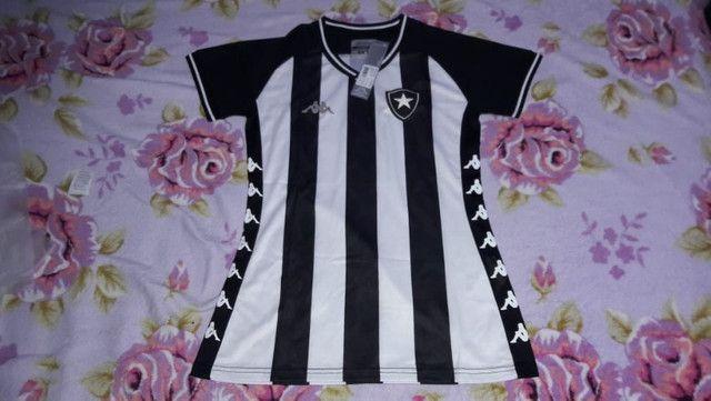 Camisas de clubes feminino - Foto 3