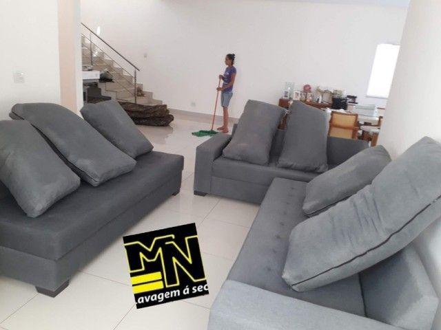 Higienização e lavagem  a seco de sofá em promoção  a partir 79.99 - Foto 4