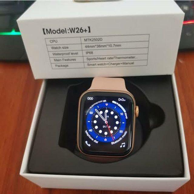 Smartwatch IWO 13 Lite(IWO W26+)Séries 6 Tela infinita, c/pulseira extra e película. - Foto 3