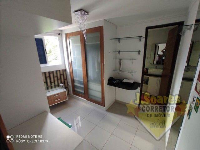 Cabo Branco, Cobertura, pisc  priv, 2 qt, 110m², 480mil, Venda, Apartamento, João Pessoa - Foto 7
