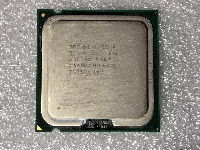 Processador Intel Core 2 Duo E7500 + Cooler Box - Foto 2