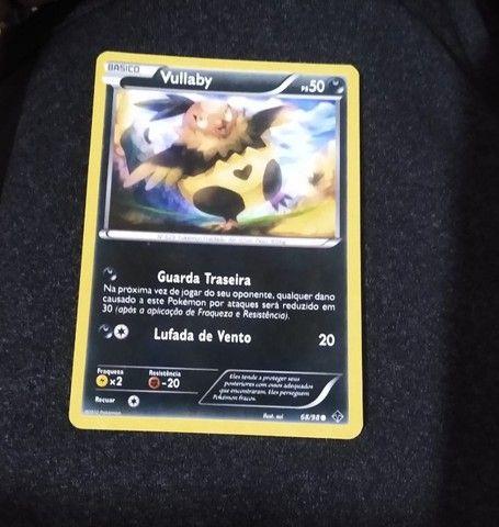 Cards TCG Pokémon tipo Noturno e Metálico - Foto 5
