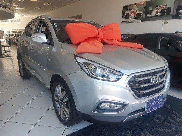 Hyundai IX35 Gls 2.0 Aut Flex 2017, Multimidia, Couro, Unica Dona, Periciada - Foto 3