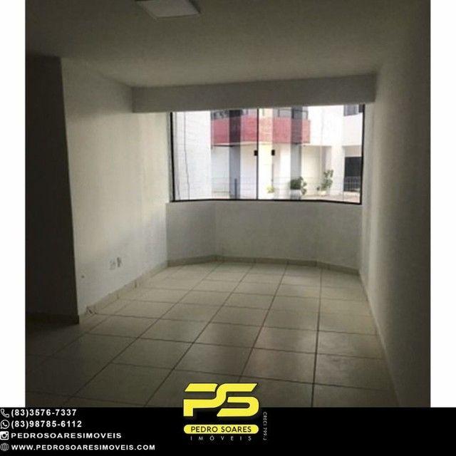 Apartamento com 3 dormitórios para alugar, 90 m² por R$ 1.700/mês - Aeroclube - João Pesso - Foto 2
